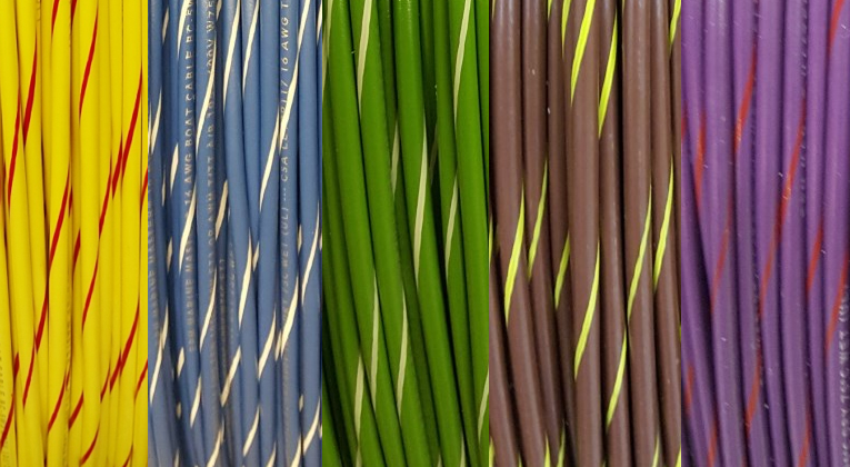 Best Striped Wire Color Images - Electrical Diagram Ideas ...